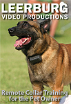 Remote Collar Training for the Pet Owner DVD by Ed Frawley